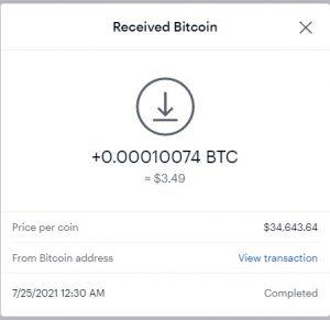 CryptoTab Browser 5th payment Rukun
